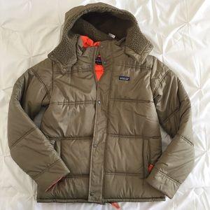 Olive Green Patagonia Puff Jacket
